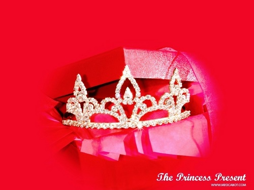 Meg Cabot achtergrond titled Princess Diaries