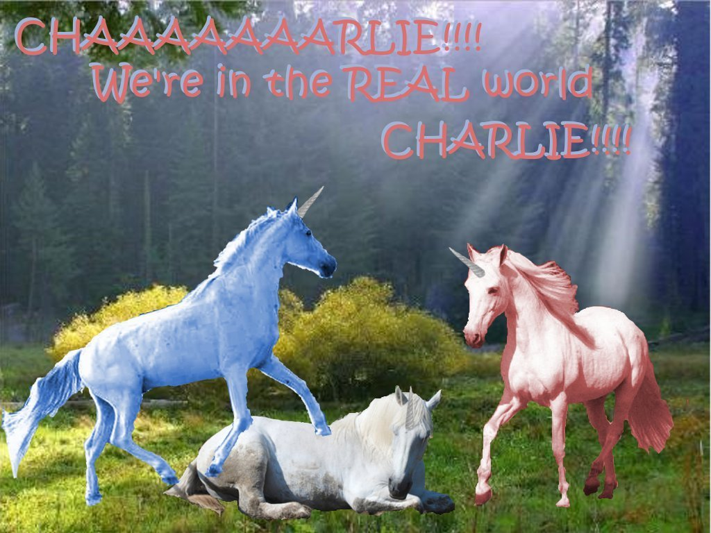 Charlie the Unicorn images REAL world, CHARLIE!!!! HD ...