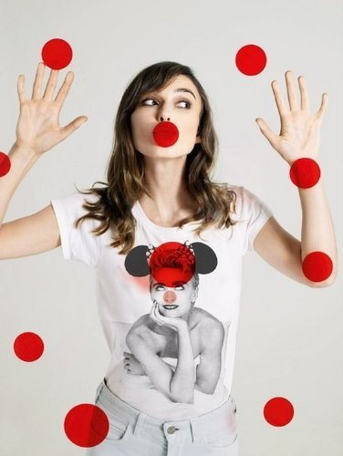 Keira Knightley wallpaper titled Red Nose Day 2009 Campaign