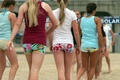 Rele cool volleyball shorts :)  - volleyball photo