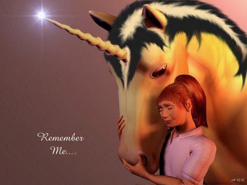 Remember Me Unicorn