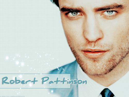 Twilight Series wallpaper possibly containing a business suit and a portrait entitled Rob Pattinson