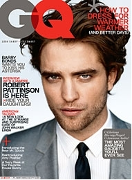Robert Pattinson on the cover of GQ
