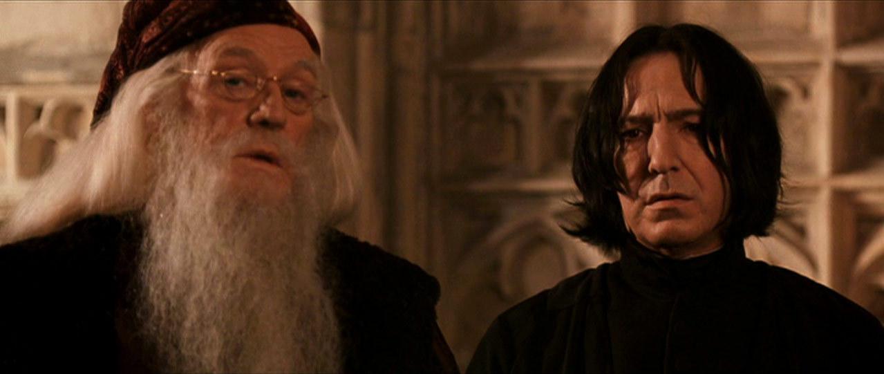 Severus Snape&Albus Dumbledore - Severus Snape Image ... Dumbledore Vs Snape