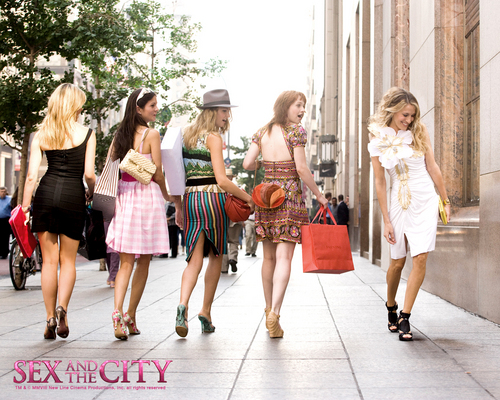 Sex And The City kertas dinding