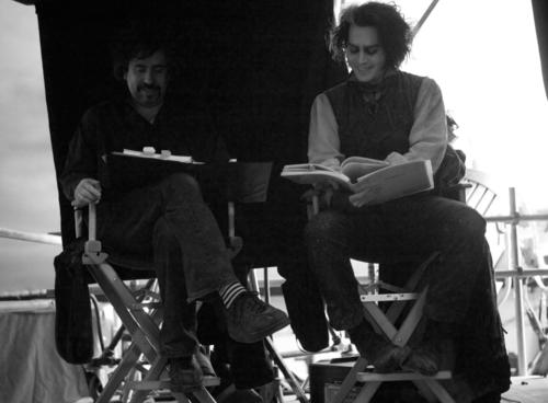 Sweeney Todd behind the scenes - tim-burton Photo