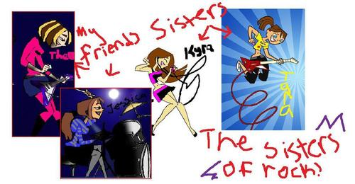 THE SISTERS OF ROCK!(TDI BAnd)