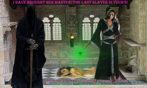 The Slayer Sorceress
