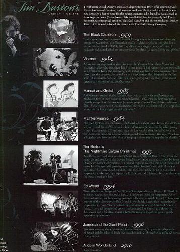 Tim Burton's Alice In Wonderland - artikel Scans from Disney Twenty-Three Magazine