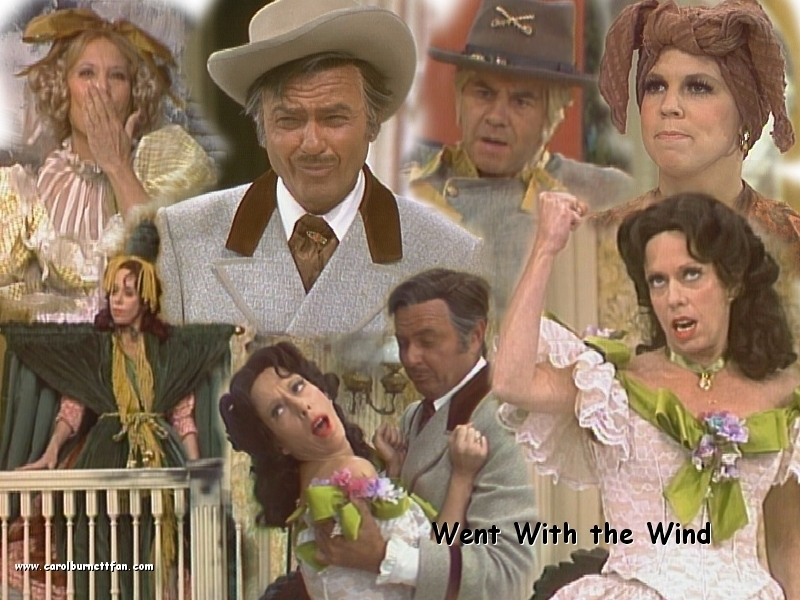 Carol Burnett Images Went With The Wind Hd Wallpaper And Background