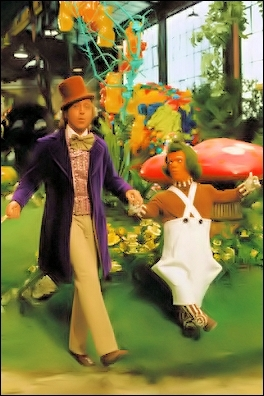 Willy Wonka and the chokoleti Factory