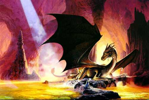 Dragons wallpaper containing anime entitled fantasy-dragon