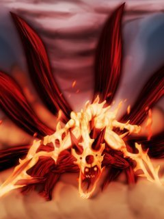 Naruto 6 Tailed