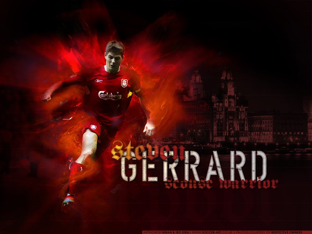 Steven Gerrard - Wallpaper Actress