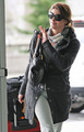 Ashley Greene @ Vancouver Airport - twilight-series photo