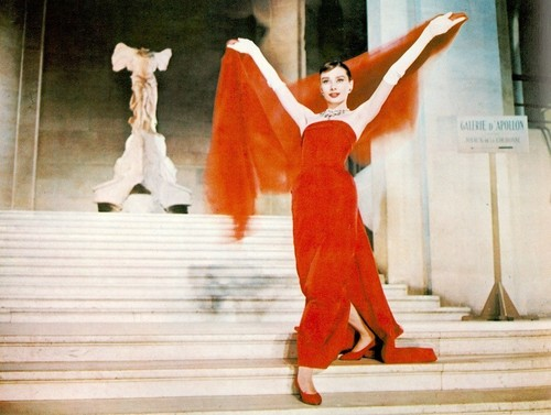 Audrey in 'Funny Face'