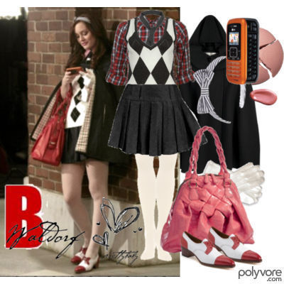 Blair Waldorf Fashion wallpaper titled BWF