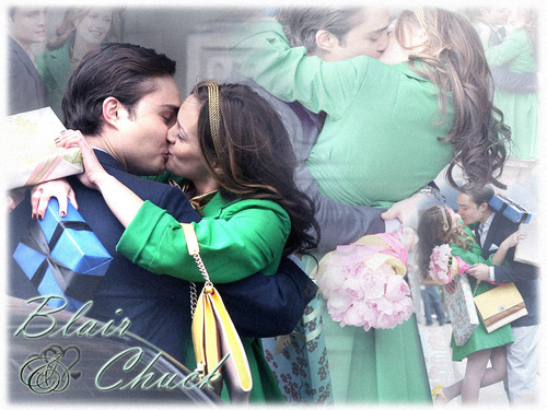 Blair & Chuck wallpaper called Blair and Chuck