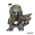 Boba Fett - boba-fett fan art