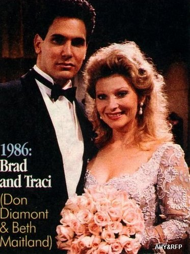 The Young and the Restless wallpaper titled Brad & Traci's wedding