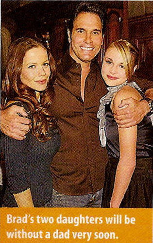 Brad & his daughters, Colleen & Abby