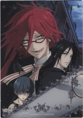 Ciel, Sebastian and Grell