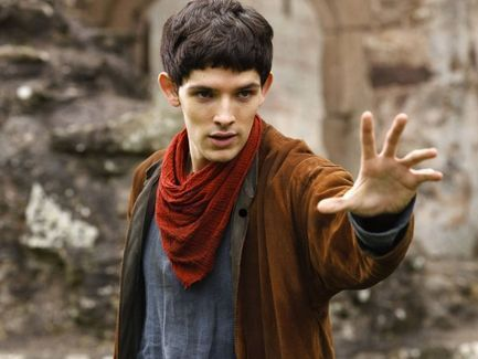 Colin Morgan wallpaper probably containing a cloak titled Colin Morgan