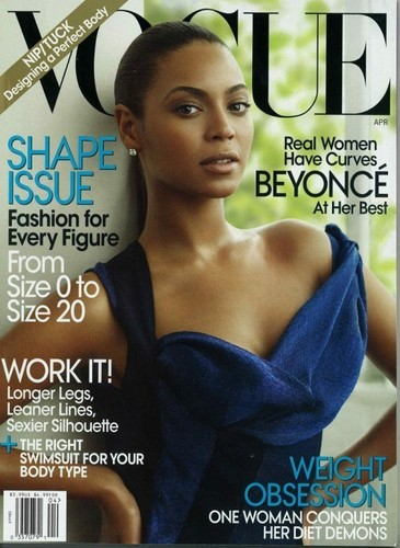 Cover of Vogue April Issue