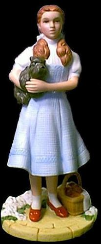 The Wizard of Oz wallpaper entitled Dorothy and Toto Figurine