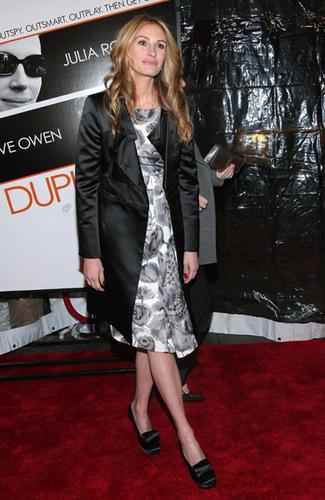 Duplicity New York premiere