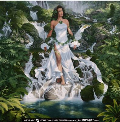 Fantasy wallpaper called Earth Goddess