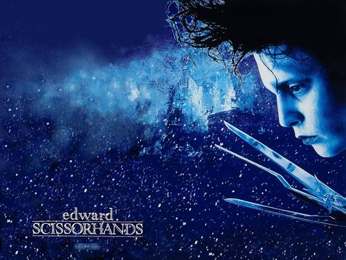 Edward Scissorhands - 바탕화면