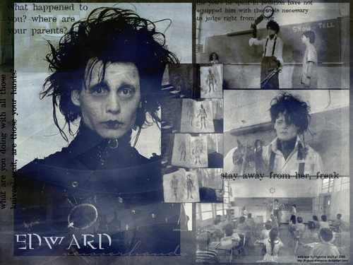 Edward Scissorhands - wallpaper - edward-scissorhands Wallpaper