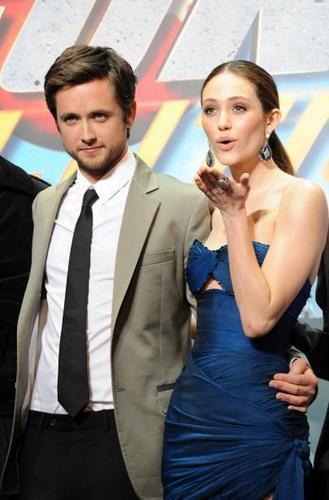 Emmy at Dragonball: Evolution premiere