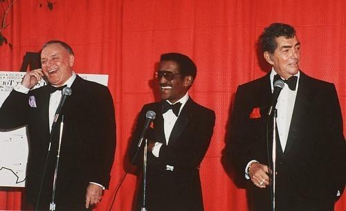Frank, Sammy and Dean