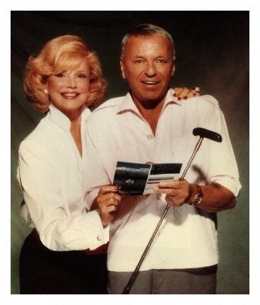Frank Sinatra and Barbara Marx