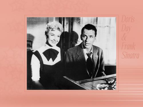 Frank Sinatra and Doris día fondo de pantalla