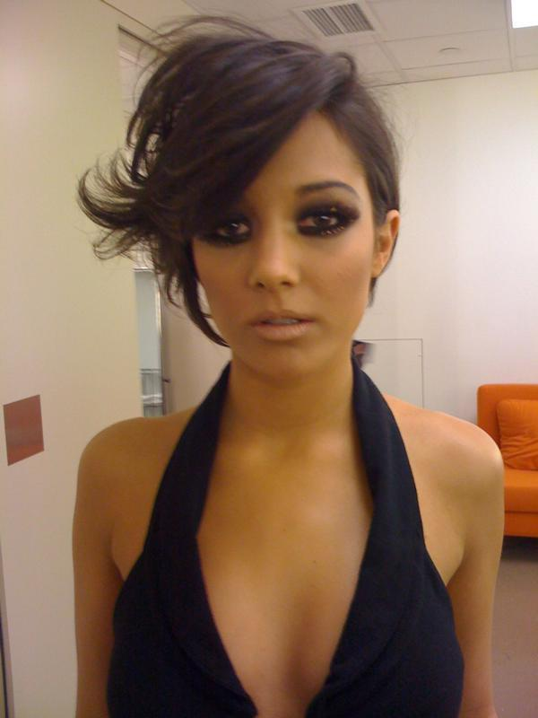 frankie sandford hairstyle front and. Frankie Sandford