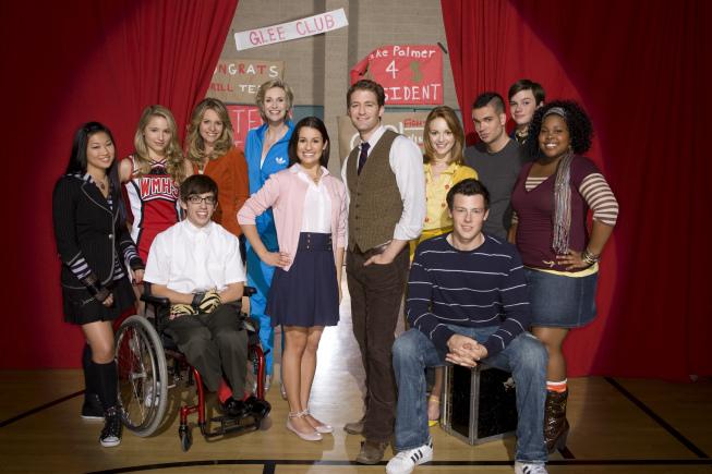 Glee TV cast