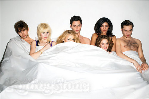 Gossip girl cast in rolling stone
