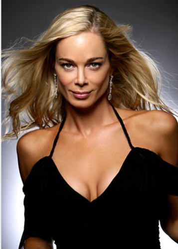 The Young and the Restless wallpaper possibly containing a bustier, attractiveness, and a maillot called Grace Turner-Jennifer Gareis
