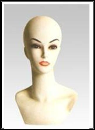 Mannequins দেওয়ালপত্র possibly containing a portrait titled Head