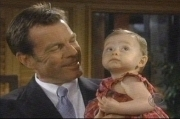 The Young and the Restless Jack with Phyllis' daughter, Summer