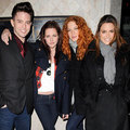 Jackson, Kristen, Rachelle and Nikki In Vancouver - twilight-series photo