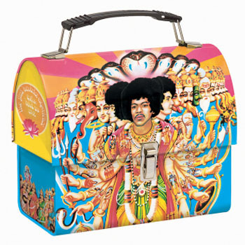 Lunch Boxes wallpaper called Jimi Hendrix Lunch Box