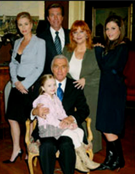 John & his family