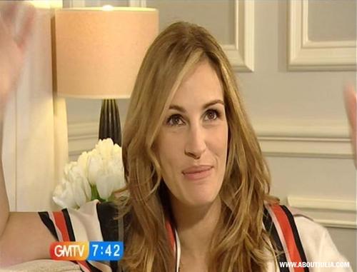 Julia GMTV Interview