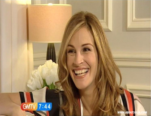 Julia GMTV Interview