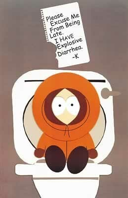 South Park kertas dinding called Kenny