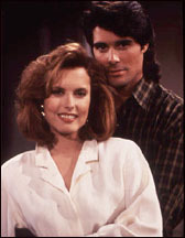 The Young and the Restless wallpaper possibly containing a portrait called Lauren & Scott Granger